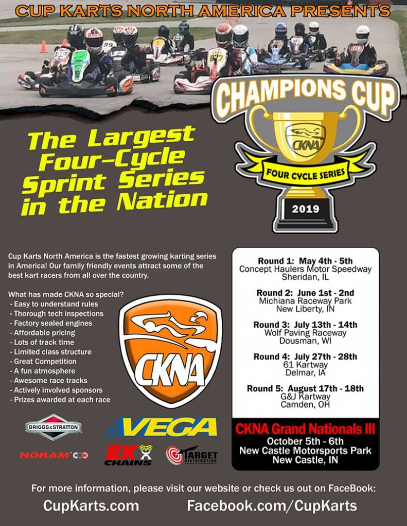 graphic regarding Nationals Printable Schedule named Plan Cup Karts North The united states